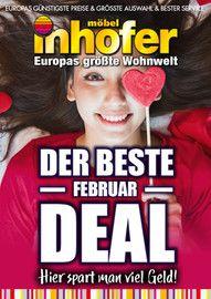 Aktueller Möbel Inhofer Prospekt, DER BESTE FEBRUAR DEAL - Hier spart man viel Geld!, Seite 1