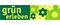 Logo: grün erleben