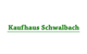 Logo: Kaufhaus Schwalbach