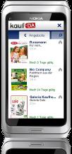 kostenlose Symbian^3-App - kaufDA Navigator