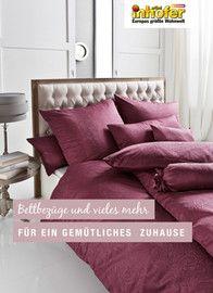Aktueller Möbel Inhofer Prospekt, Bettbezüge und vieles mehr für ein gemütliches Zuhause, Seite 1