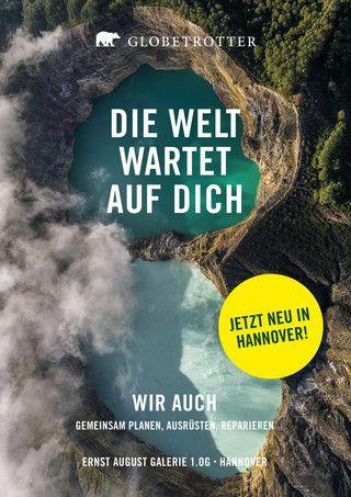 Globetrotter, DIE WELT WARTET AUF DICH für Hannover